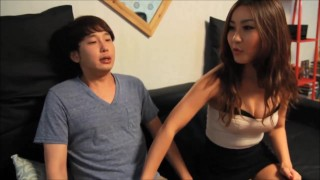 Korean Chick Fucks A Virgin