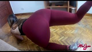 Petite Teen Latina In Yoga Pants Fucking Hardcore (Pussy Creampie)