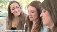 Reality Kings – Two Stunning College Lesbians Initiate New Sorority Sister