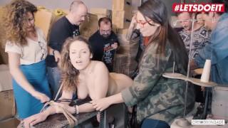 LETSDOEIT – Big Boobs Girl Bound Hard And Given Multi Orgasms